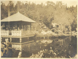 Another view of the Tea Pavilion, Hatley Park