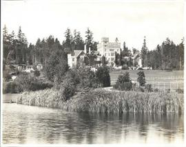 Hatley Castle from lower pond