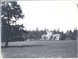 Hatley Castle from south