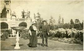 James & Laura Dunsmuir in Italian Garden