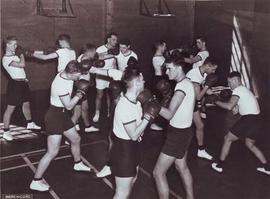 boxing training pre 1965