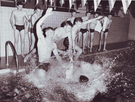 swimming competition spring 1961