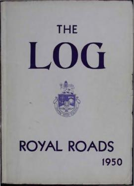 The Log of the first tri-service term graduating from Royal Roads, April 1950