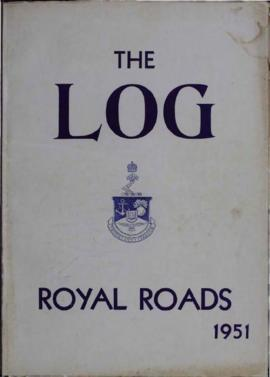 The Log of the Canadian Services College, Royal Roads, graduation, 1951