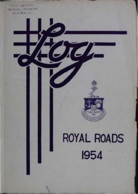 The Log of the Canadian Services College, Royal Roads, 1953-1954