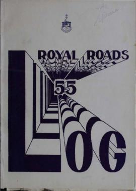 The Log, Canadian Services College, Royal Roads, 1954-1955