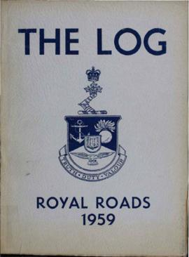 The Log, Canadian Services College, Royal Roads, 1958-1959.
