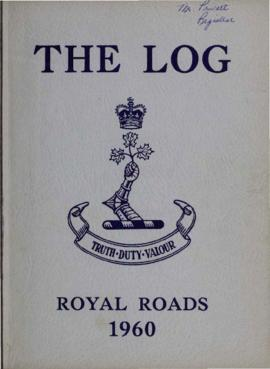 The Log, Canadian Services College, Royal Roads, 1959-1960.