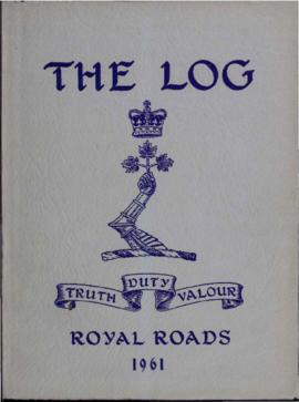 The Log, Canadian Services College, Royal Roads, 1960-1961.