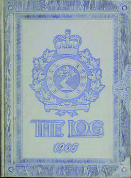 The Log, Canadian Services College, Royal Roads, 64-65.