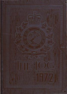 The Log, '72, Royal Roads Military College, Victoria, B.C.